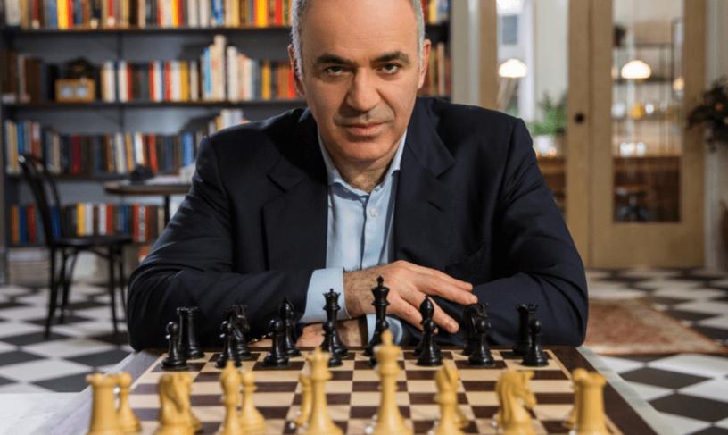 گری کاسپارف،بزرگترین شطرنج باز دنیا، از بیت کوین حمایت کرد