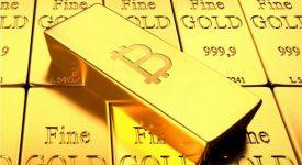 سرمایه ی بازار بیت کوین از طلا پیشی می گیرد!