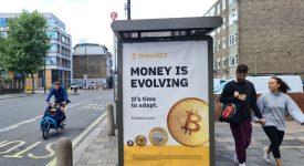 فصل جدید ارزهای دیجیتال بیت کوین در خیابان های انگلیس!