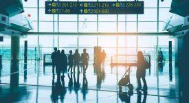 سنجش تمیزی سطوح در فرودگاه نیویورک با استفاده از برنامه ردیایی سلامتی (Wellness Trace App)