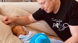 ایلان ماسک برای پسر 9 ماه خود دوج کوین خرید!