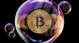نظر سنجی: 75 درصد سرمایه گذاران حرفه ای باور دارند قیمت بیت کوین حباب دارد