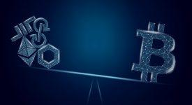 دامیننس بیت کوین برای اولین بار در سه سال در آستانه نزول به زیر 50 درصد قرار گرفته است
