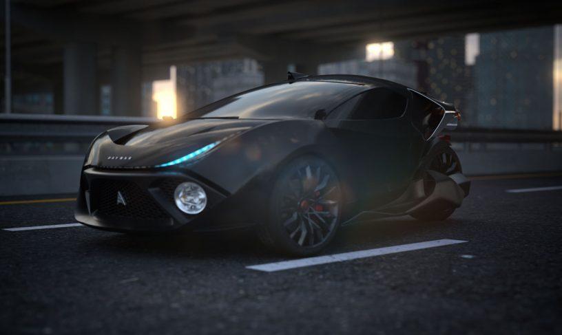 شرکت دیماک از یک خودروی برقی با قابلیت ماینینگ رونمایی کرد